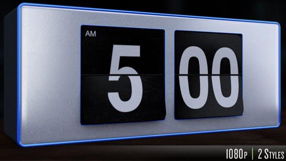 Thumbnail for 5 A.M. Flip Alarm Clock