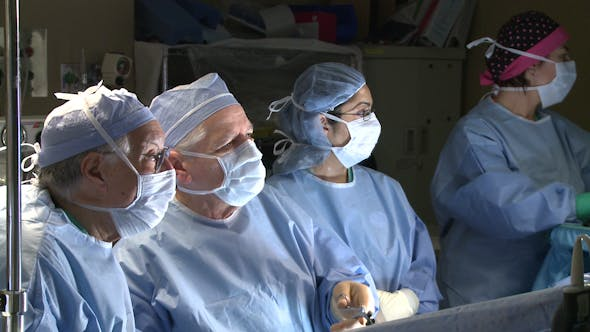 Thumbnail for Group Of Surgeons Performing Surgery (7 Of 15)