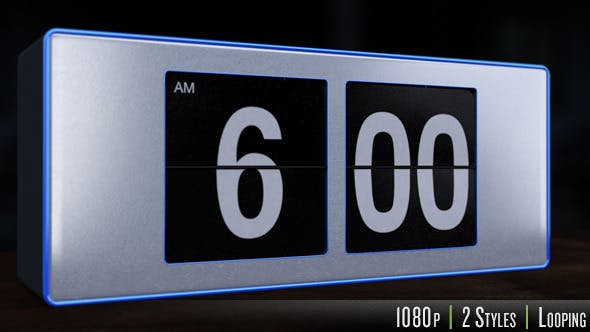 Thumbnail for 6 A.M. Flip Alarm Clock