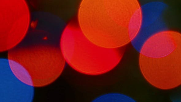 Thumbnail for Colorful Bokeh Lights Background