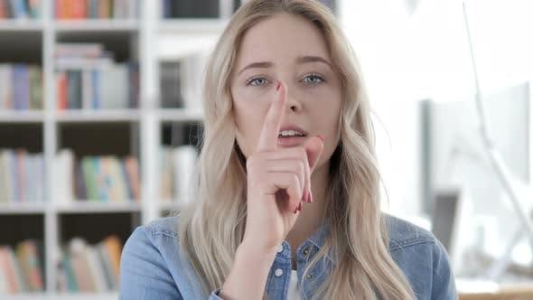 Thumbnail for Finger on Lips