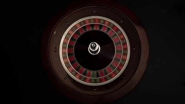 Thumbnail for Croupier Spins the Roulette Then Stops Black