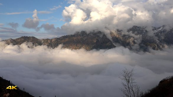 Thumbnail for Magnificent Landscape Above the Clouds 13