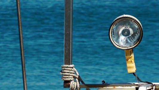Thumbnail for Lamp on Fishing Boat
