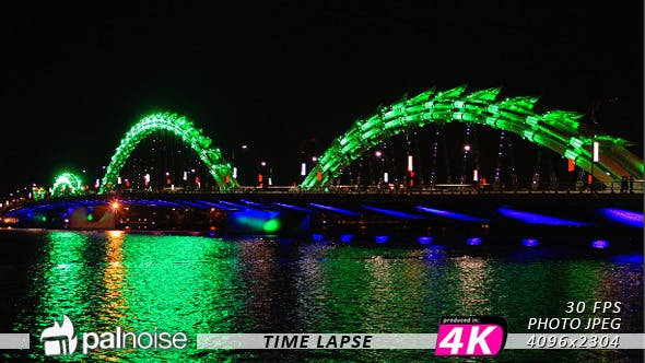 Thumbnail for Led Creative Ligths Town, Bridge Asia