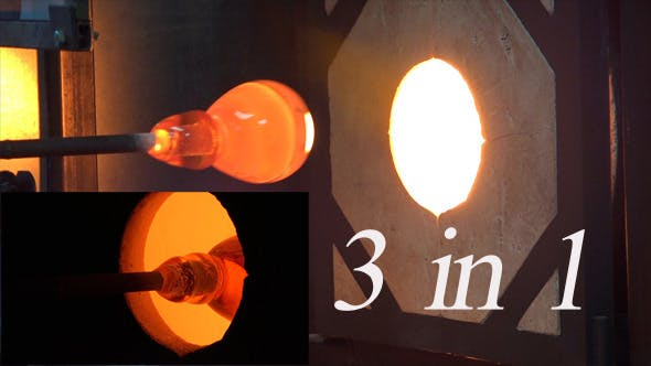 Thumbnail for Glassblowing or Glassblower