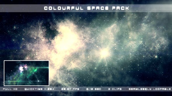 Thumbnail for Colourful Space Pack