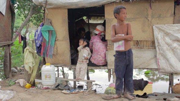Thumbnail for Slums At Phnom Penh City Dumping Area 21