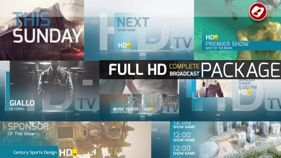HDtv Complete Broadcast Package
