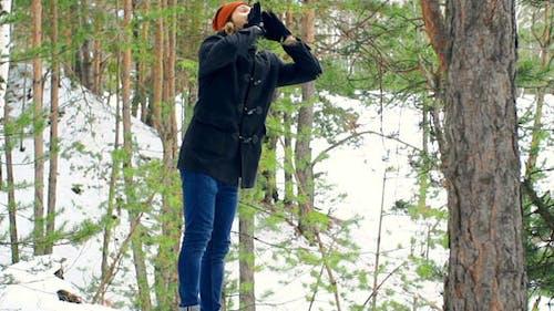 Versteck im Wald