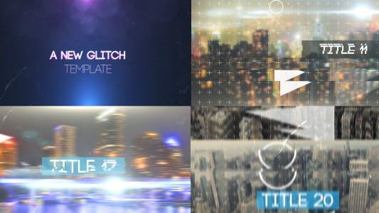 Thumbnail for Diaporama dynamique Glitch