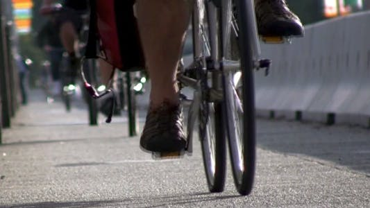 Thumbnail for City Life - Bicyclists - HD