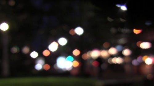 Night Street Lights - HD - Loop