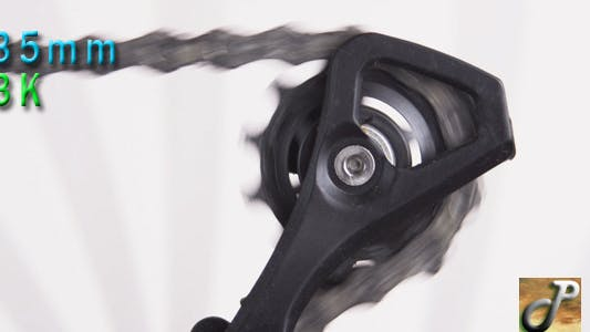 Thumbnail for Bicycle Rear Derailleur In Motion