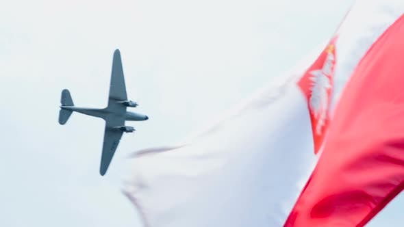 Thumbnail for Great and powerful Polish air force checking tranquility of republic borders