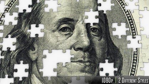 $100 Dollar Ben Franklin Jigsaw Puzzle