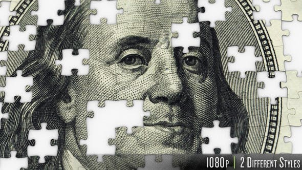$100 Dollar Ben Franklin Jigsaw Puzzle