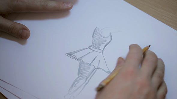 Thumbnail for Men Drawing Sketches Of Dancer