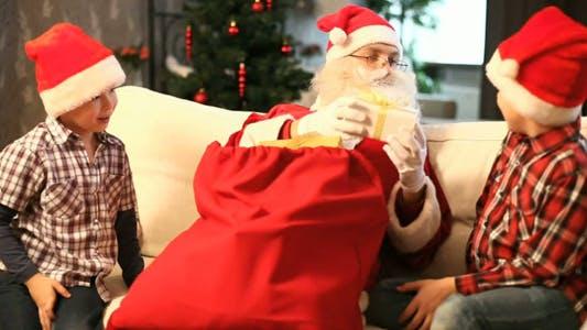 Thumbnail for Giving Christmas presents