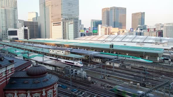 Cover Image for Tokyo Railway Station Japan Time Lapse