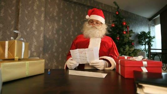 Thumbnail for Weihnachtsmann Lesebrief