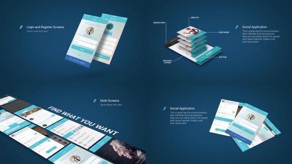 Thumbnail for App Presentation Mockup Kit