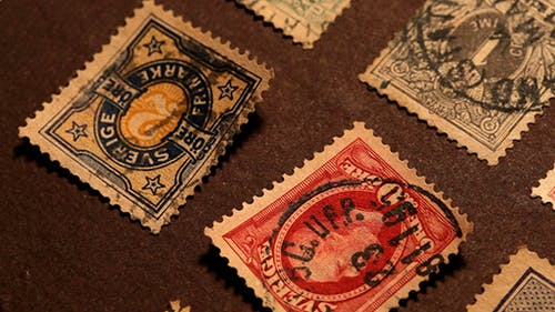 Old Stamps 334