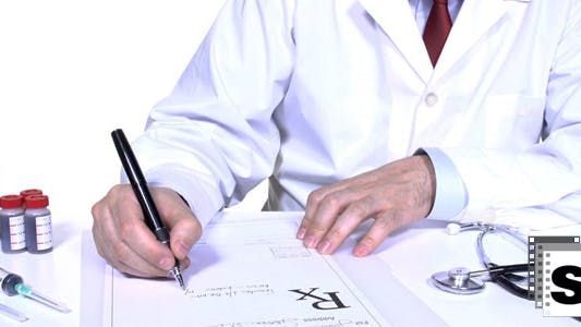 Thumbnail for Medical Prescription In Office