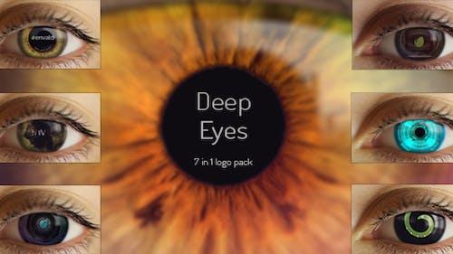 Deep Eyes   7 in 1 logo pack