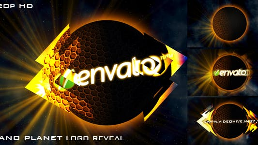 NANO PLANET (logo reveal)