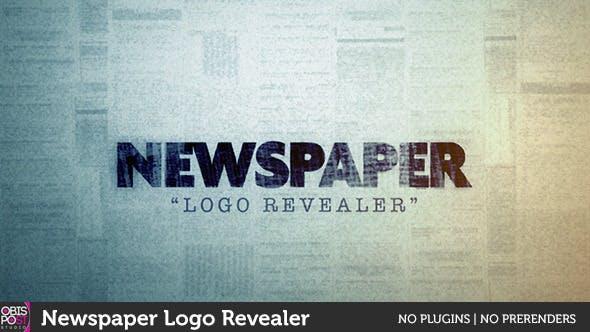 Thumbnail for Newspaper Logo Reveal