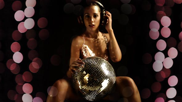 Thumbnail for Sexy Party Girl Black Discoball 9