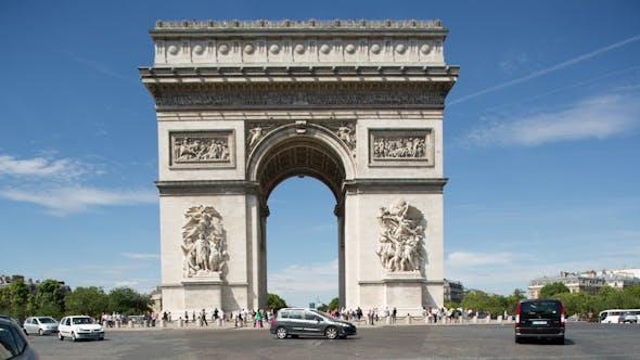 Arc Du Triomphe Paris France 10