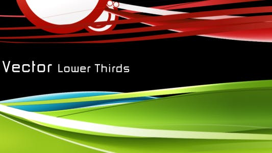 Thumbnail for Vector Lower Thirds