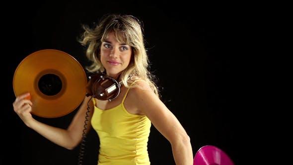 Thumbnail for Girl Dancing Record Vinyl 2