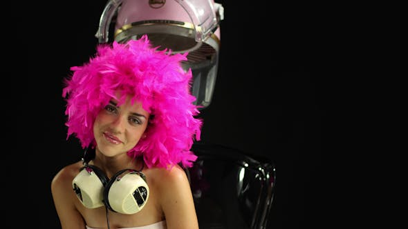 Thumbnail for Disco Hairstyle Retro Fashion Burlesque 1