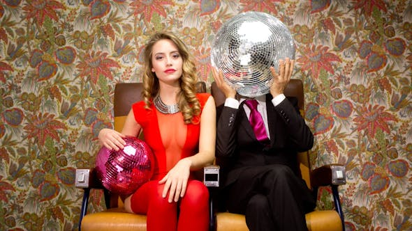 Thumbnail for Two Cool Club Disco Ball Characters 6