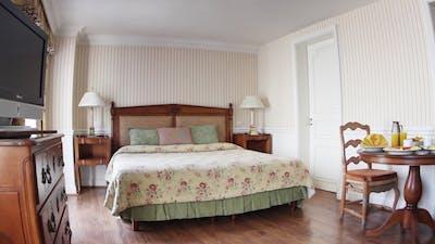 Antique Hotel Room