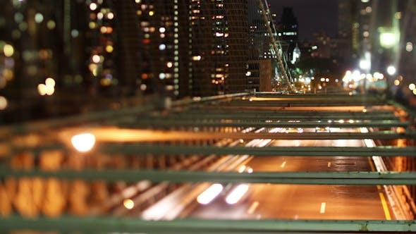 Thumbnail for Brooklyn Bridge At Night, New York 3