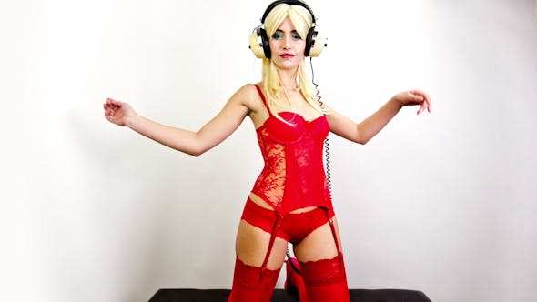 Thumbnail for Red Lingerie Sexy Dancer 12