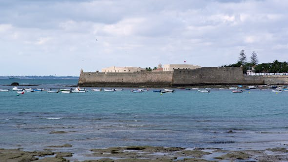 Thumbnail for Military Fort In Cadiz, Andalusia Spain 1