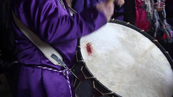 Thumbnail for Calanda Drummers During Easter Spanish Tradition 17