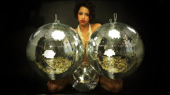 Sexy Female Disco Dancer Nightlife Club 2