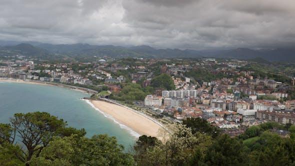 Thumbnail for Playa De La Concha San Sebastian Spain 2