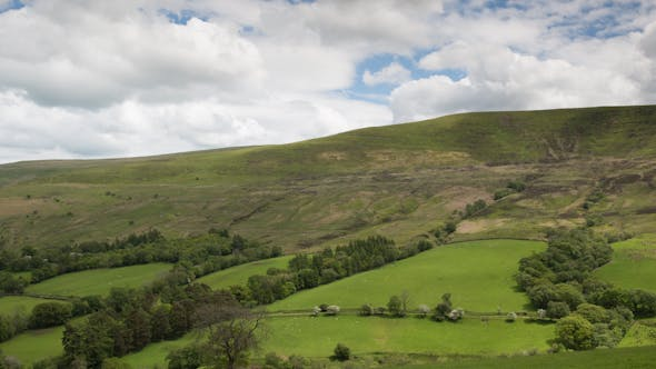 Brecon Beacons Wales Field Countryside 1