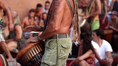 Ibiza Hippie Benirras Drummers 1