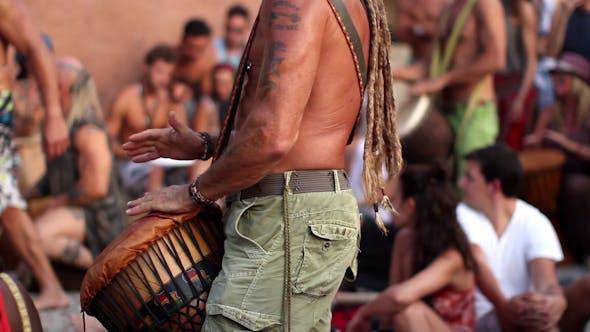 Thumbnail for Ibiza Hippie Benirras Drummers 1