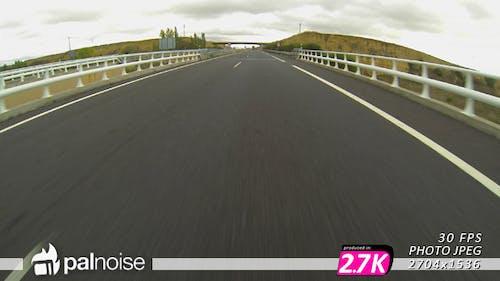 Fast Highway Speed Road