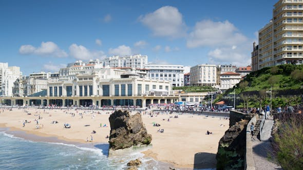 Thumbnail for Biarritz France City Surfers Sea 3