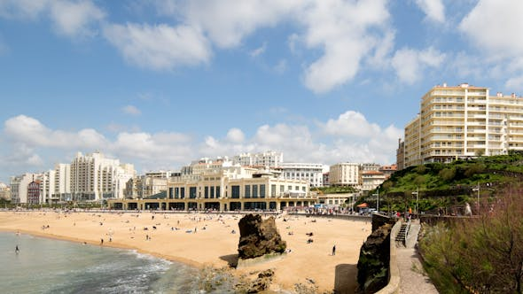 Thumbnail for Biarritz France City Surfers Sea 6